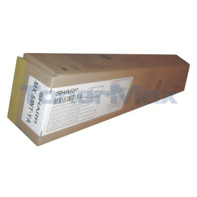 SHARP MX-4110N/5110N TONER CTG YELLOW